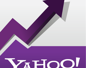 Yahoo shares jumped 9 percent despite a 20 percent fall in first-quarter earnings