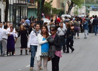 A 6.4-magnitude earthquake has hit Mexico, causing buildings to sway in the capital