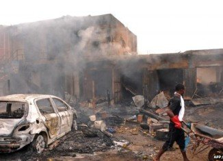 Alagarno attack comes a day after 118 people died in a double bombing in the Nigerian city of Jos