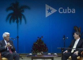American Chamber of Commerce President Thomas Donohue arrived in Cuba to assess the economic changes taking place under President Raul Castro