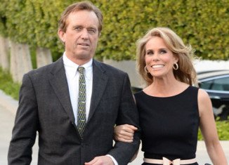 Cheryl Hines and RFK Jr. first started dating in 2012 and their engagement news was shared at Muhammad Ali's Celebrity Fight Night in Phoenix