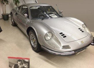 Keith Richards bought his Ferrari Dino brand new in California in 1972