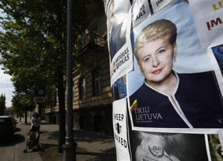 Lithuania is holding presidential elections, with incumbent Dalia Grybauskaite widely predicted to secure her second term