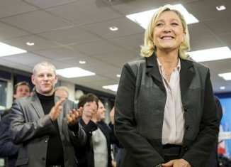 Marie Le Pen's National Front has come first in France's elections to the European Parliament