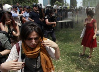 Protests against plans to redevelop Istanbul's Gezi Park last year turned into mass anti-government rallies after a heavy-handed police crackdown