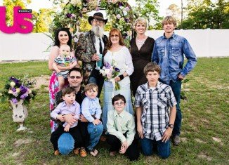 Si Robertson and his wife Christine clebrated their 43rd wedding anniversary by renewing their vows in West Monroe