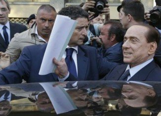 Silvio Berlusconi is due to start a year of community service at a care home near Milan