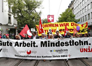 Switzerland is voting in a referendum on whether to introduce what would be the highest minimum wage in the world