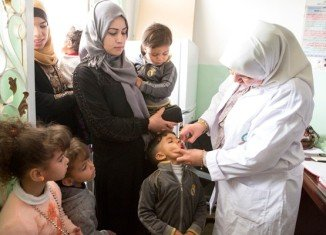 The WHO said polio outbreaks in Asia, Africa and Middle East are an extraordinary event needing a coordinated international response