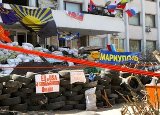 Ukraine troops have retaken Mariupol city hall from pro-Russia separatists