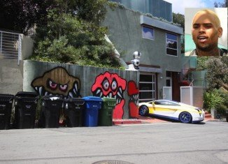 Chris Brown has sold his graffiti-covered Hollywood Hills home for $1.79 million
