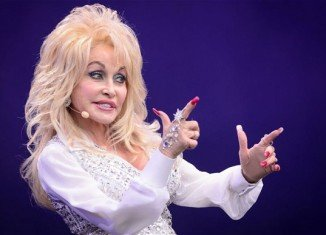 Dolly Parton took to the Pyramid Stage on day three of this year's Glastonbury festival