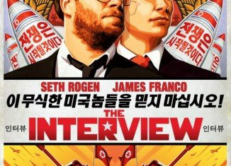 In The Interview, James Franco and Seth Rogen play a talk show host and his producer who are invited to interview Kim Jong-un