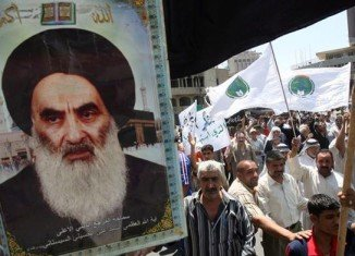 Iraq's most senior Shia cleric, Grand Ayatollah Ali al-Sistani, has issued a call to arms while Sunni-led insurgents seize more towns
