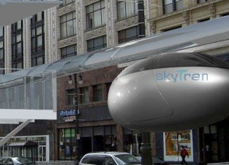 NASA's skyTran and Israel Aerospace Industries are to build the world's first public pilot project for elevated transit network in Tel Aviv