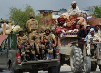 Pakistan's army has launched a ground offensive against Taliban militants in North Waziristan