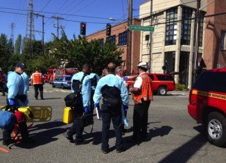 Police have praised the bravery of a Seattle Pacific University student for disarming a gunman who had killed one person and wounded three others