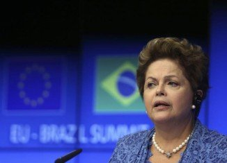 President Dilma Rousseff has been officially endorsed by the governing Workers Party to run for re-election in October