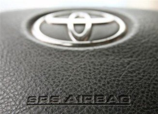 Toyota is recalling about 650,000 vehicles in Japan because of Takata's potentially defective airbags