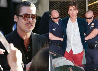 Vitalii Sediuk accosted Brad Pitt at the world premiere of Maleficent in Hollywood