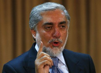 Abdullah Abdullah has claimed victory in the second round of Afghanistan's presidential race, despite results giving a lead to his rival, Ashraf Ghani
