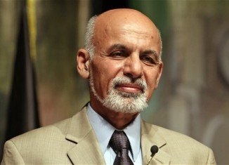 Ashraf Ghani is leading the Afghan presidential race after preliminary results