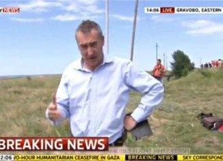Colin Brazier has admitted he made errors to handle Malaysia Airlines passengers' belongings at the MH17 crash site in Ukraine