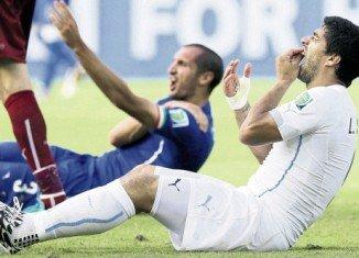 FIFA rejects Luis Suarez's appeal against bite ban
