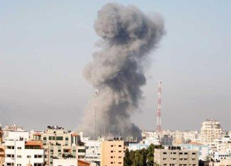 More than 1,300 Palestinians and 58 Israelis have now died in Gaza Strip conflict