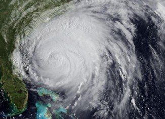 Packing maximum sustained winds of 100 mph, Hurricane Arthur made its landfall on the Eastern Seaboard late Thursday
