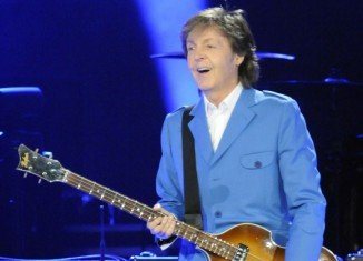 Paul McCartney played an arena in Albany as part of his Out There tour