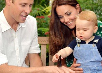Prince William and Kate Middleton have released new pictures as Prince George Alexander Louis celebrates his first birthday
