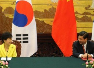 Xi Jinping and Park Geun-hye would fully exchange views on the nuclear issue and the stalled six-party talks aimed at persuading North Korea to abandon its nuclear ambitions