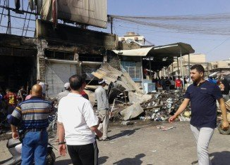At least 30 people have been killed in an air strike in the northern Iraqi city of Mosul