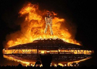 Burning Man festival has been closed on opening day amid rare heavy rains