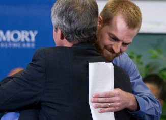 Dr. Kent Brantly contracted the Ebola virus in Liberia, where he and his family moved in October 2013