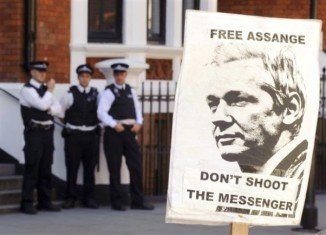 Julian Assange has suggested he will be leaving Ecuador's embassy in London soon