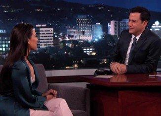 Kim Kardashian shared the unedited highlights of her European wedding on Jimmy Kimmel Live