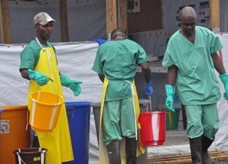 Liberia has imposed a night-time curfew in a bid to halt the deadly Ebola outbreak
