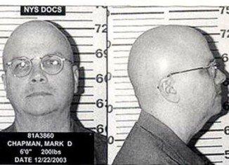 Mark David Chapman shot John Lennon four times outside a Manhattan apartment block on December 8, 1980