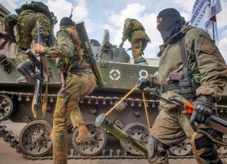 Over 400 Ukrainian troops have crossed into Russia during heavy fighting with pro-Russian separatists