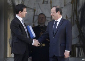 President Francois Hollande has named a new cabinet under PM Manuel Valls