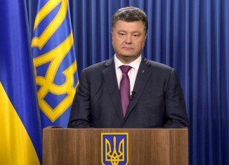 President Petro Poroshenko is accusing Russia of invasion after deploying its troops in eastern Ukraine