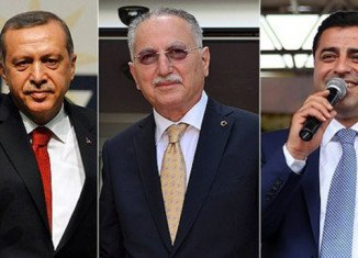 Recep Tayyip Erdogan's two rivals in Turkey's presidential election are a little-known diplomat, Ekmeleddin Ihsanoglu, and Kurdish politician Selahattin Demirtas