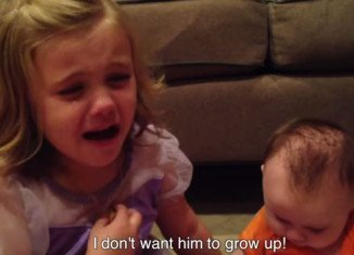 Sadie doesn't want her little brother to grow up