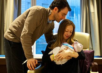 Chelsea Clinton shared the first picture of her newborn daughter Charlotte