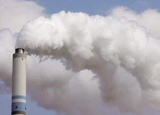 Concentrations of CO2 in the atmosphere between 2012 and 2013 grew at their fastest rate since 1984