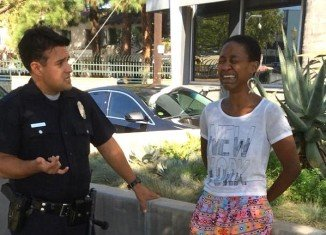 Daniele Watts was detained by LAPD officers on September 11