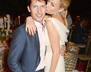 James Blunt and Sofia Wellesley got engaged in December 2013 after dating for a year