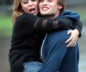 Miley Cyrus was first rumored to be romancing Douglas Booth in 2010 when they co-starred in teen drama LOL
